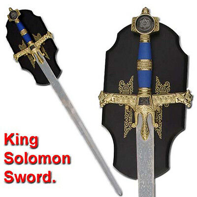 Medieval Sword King Solomon Templar  C023BL-GB2J