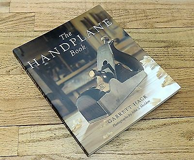 THE HANDPLANE BOOK by GARRETT HACK-SOFTCOVER HAND TOOL BOOK