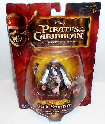 """Pirates of The Caribbean At World's End 3 3/4"""" Action Figure JACK SPARROW New"""