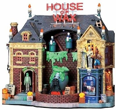Lemax Spooky Town Halloween Lighted House of Wax