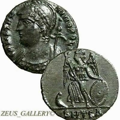 CONSTANTINE The Great Ancient Roman Coin Thessalonica mint Where he Died
