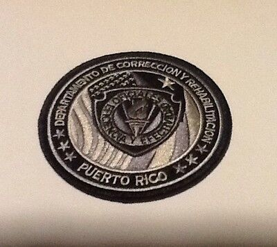 Puerto Rico Department Of Corrections Tactical Subdued Patch