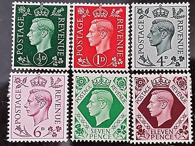 Great Britain GB 1937 to 1947 Mint Stamps Set Collection