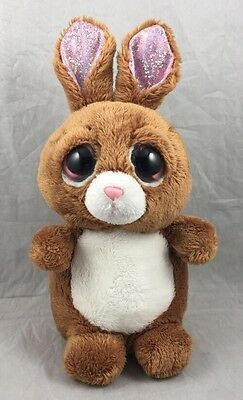 Taffy Li'l Peepers Brown Pink White Bunny Rabbit Easter Russ Suki Plush Toy 8""