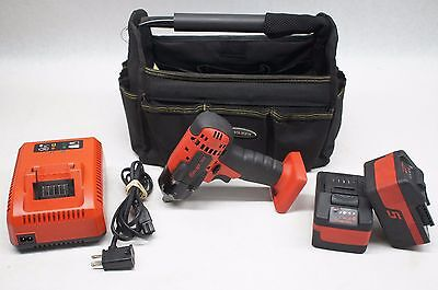 "Snap-on CT8810A 18V Li-ion 3/8"" Impact Wrench Kit CTB8185 CTC720"