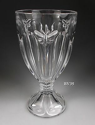 """Lenox Crystal Butterfly Meadow Water Goblet 6 1/4"""" - Set Of 3 Water Goblets"""