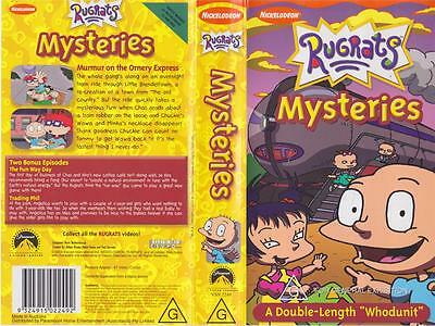 A Rugrats Mysteries  Vhs Pal Video~ A Rare Find