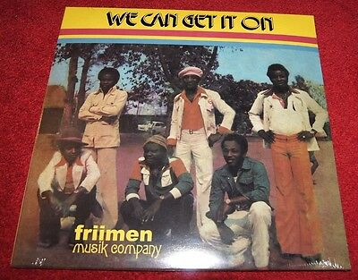 FRIIMEN MUSIC COMPANY We Can Get It On PMG LP NEW! Afrobeat, Disco, Funk, Psych