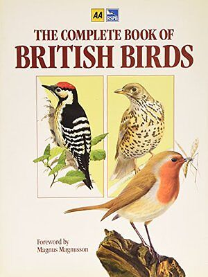 (Good)-The Complete Book of British Birds (Hardcover)--0861456637