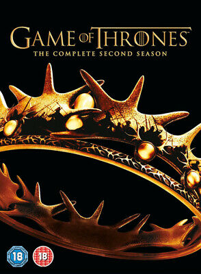 Game of Thrones: The Complete Second Season (5 DVD BOXSET)(2013)