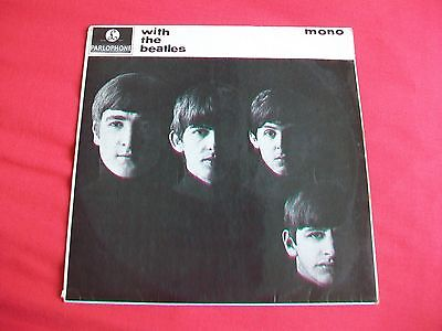 The Beatles - With The Beatles - Uk Mono Lp Pmc 1206, 1963 Original - Ej Day Sl.