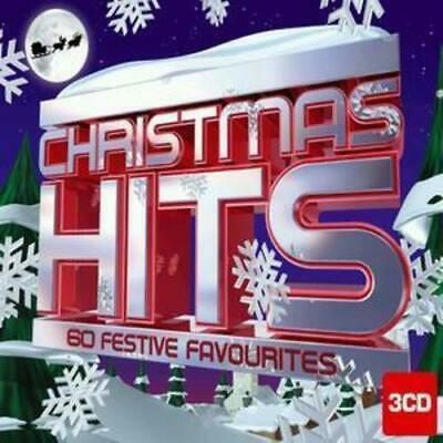 Various Artists : Christmas Hits: 60 Festive Favourites CD (2006)