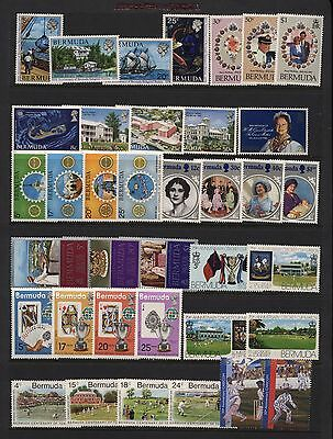 Bermuda Collection Modern Commemorative Sets UM + MM