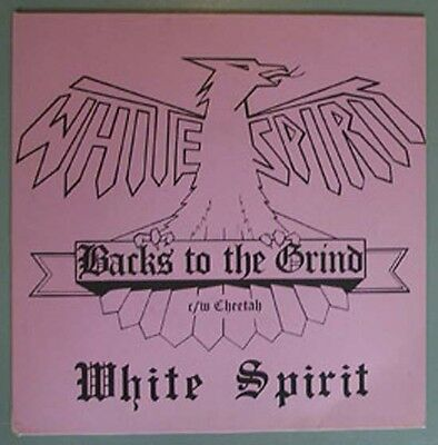 """White Spirit Backs To The Grind 7"""" With Cheetah Uk"""