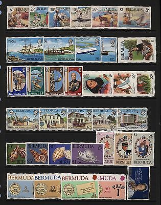Bermuda Collection Modern Commemorative Sets Unmounted Mint