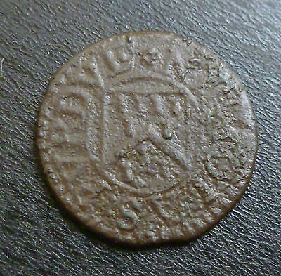 Hampshire Winchester 17th Century Farthing Token W226 1/4d Nicholas Purdue