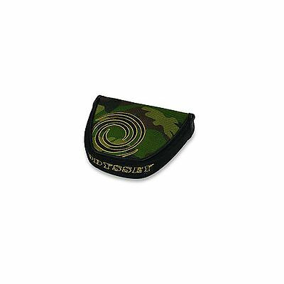 Odyssey Camo Putter Headcover (Mallet) Green Golf Club Cover NEW