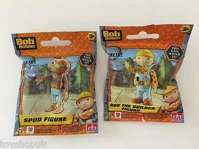 Bob the Builder & Spud Figures Toys Bundle BRAND NEW - Free UK P&P