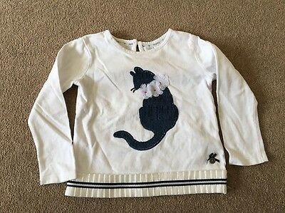 Girls Jasper Conran Long Sleeved Top Age 18-24 Months