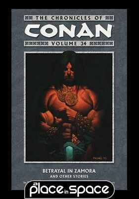 Chronicles Of Conan Vol 34 Betrayal In Zamora - Softcover