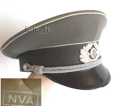 DDR NVA STASI Uniform Mütze Schirmmütze 57 v. 1979 East german officer visor hat