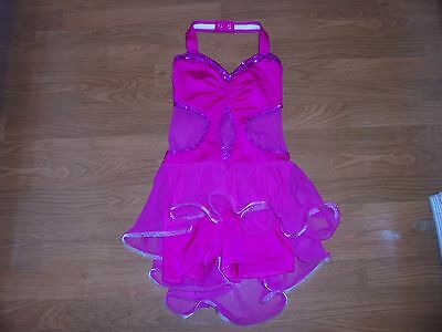 Kelle pink dance wear outfit size TEEN dress up Halloween?