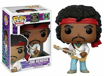 Jimi Hendrix Woodstock Funko Vinyl Pop! Rocks Figure #54