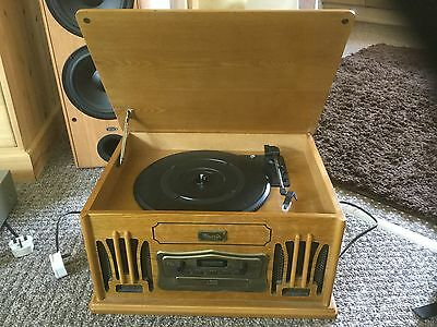 Vintage style cd stereo system