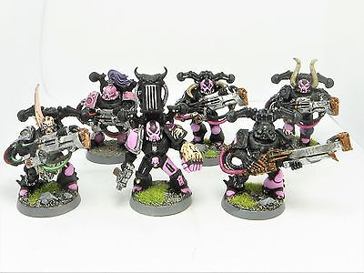 EMPEROR'S CHILDREN NOISE MARINES  Painted 40K Slaanesh Chaos Space Marine Army A