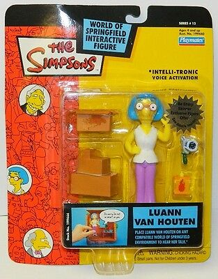The Simpsons Luann Van Houten Action Figure with Voice Series 12, Playmates 2003