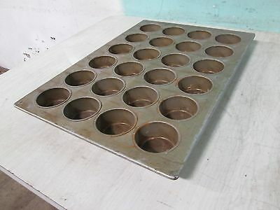 Heavy Duty Commercial Large Muffin / Cup-Cake Steel Baking Pans