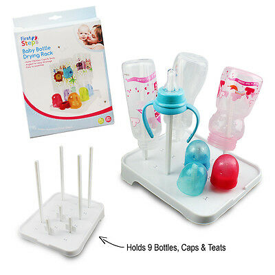 Baby Bottle Drying Rack Sterilise Teats Feeding Cups Babies Milk Food Containers
