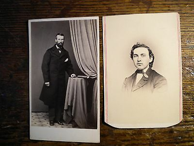 Famous Persons-Civil War Era- 1860S-Cdvs-Mclees/reimer-Phildelphia- Photos