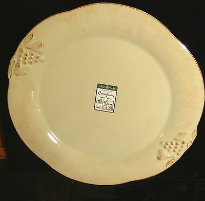 """Casafina Stoneware - Madeira Harvest Green Charger Plate - 13 1/2"""" wide"""