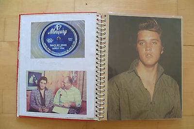 1950's/60's Pop,Rock and Groups scrapbook 22 pages