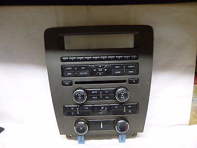 11 12 13 14 Ford Mustang Radio Control Panel Face CR3T-18A802-JA 16F061