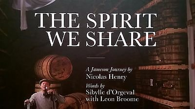 """Jameson Whiskey """"The Spirit We Share"""" RARE HB Book Amazing Colourful Pictures"""