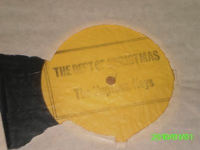 """The Nuptown Keys - The Best Of Christmas - 12"""" Single, Yellow Label Promo"""
