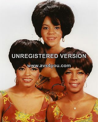 "Diana Ross and the Supremes 10"" x 8"" Photograph no 22"
