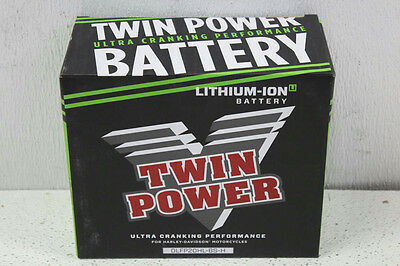 Twin Power Lithium-Ion Battery for Harley Daivdson Motorcycle DLFP20HL-BS-H