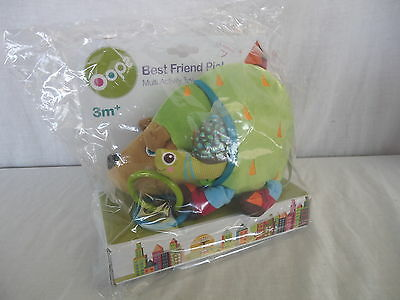 BEST FRIEND PIC OOPS Multi Activity Toy BABY INFANT HEDGEHOG TOY 3m+ BNIP 4199