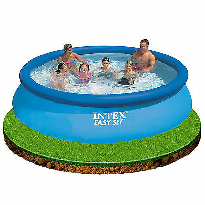"Intex 12ft x 30"" Easy Set Inflatable Swimming Pool great fun for kids #28130"