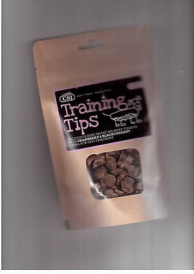 CSJ poppets tasty crunchy treats  for dogs training agility dog showing 200g