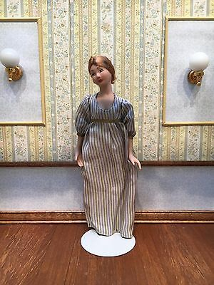 1:12 Scale Dollhouse Miniature Artisan Doll by Debra Hammond Young Lady Woman