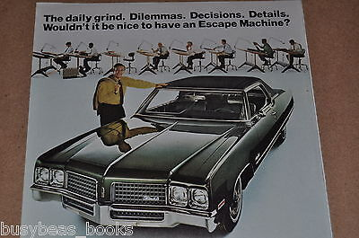 1970 Oldsmobile advertisement, Oldsmobile Ninety-Eight, Olds 98, drafting office