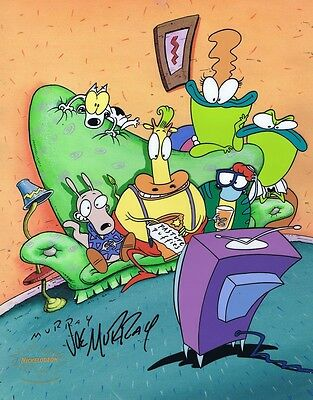 ROCKO'S MODERN LIFE Cell Painted Limited Edition Cel Nicktoons Joe Murray SIGNED