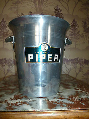 VINTAGE FRENCH PIPER CHAMPAGNE BUCKET 1960's