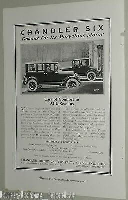1920 Chandler Motor Car Co. advertisement, CHANDLER coupe & sedan