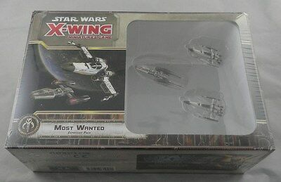Star Wars X-Wing Miniatures Game FFGSWX28 Most Wanted Expansion Pack