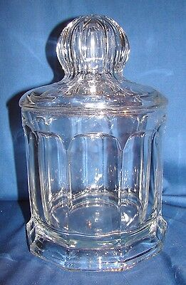 Heisey Flat Panel Colonial Crushed Fruit Jar
